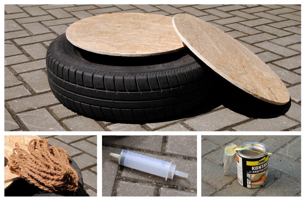 Upcycling Mobel Aus Autoreifen Selber Bauen