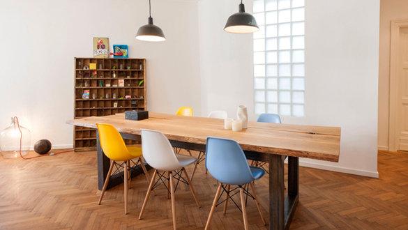 Wohnideen mit Stühlen von Charles & Ray Eames