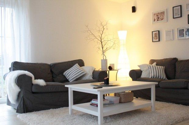 Einrichtungsideen Wohnzimmer Grau