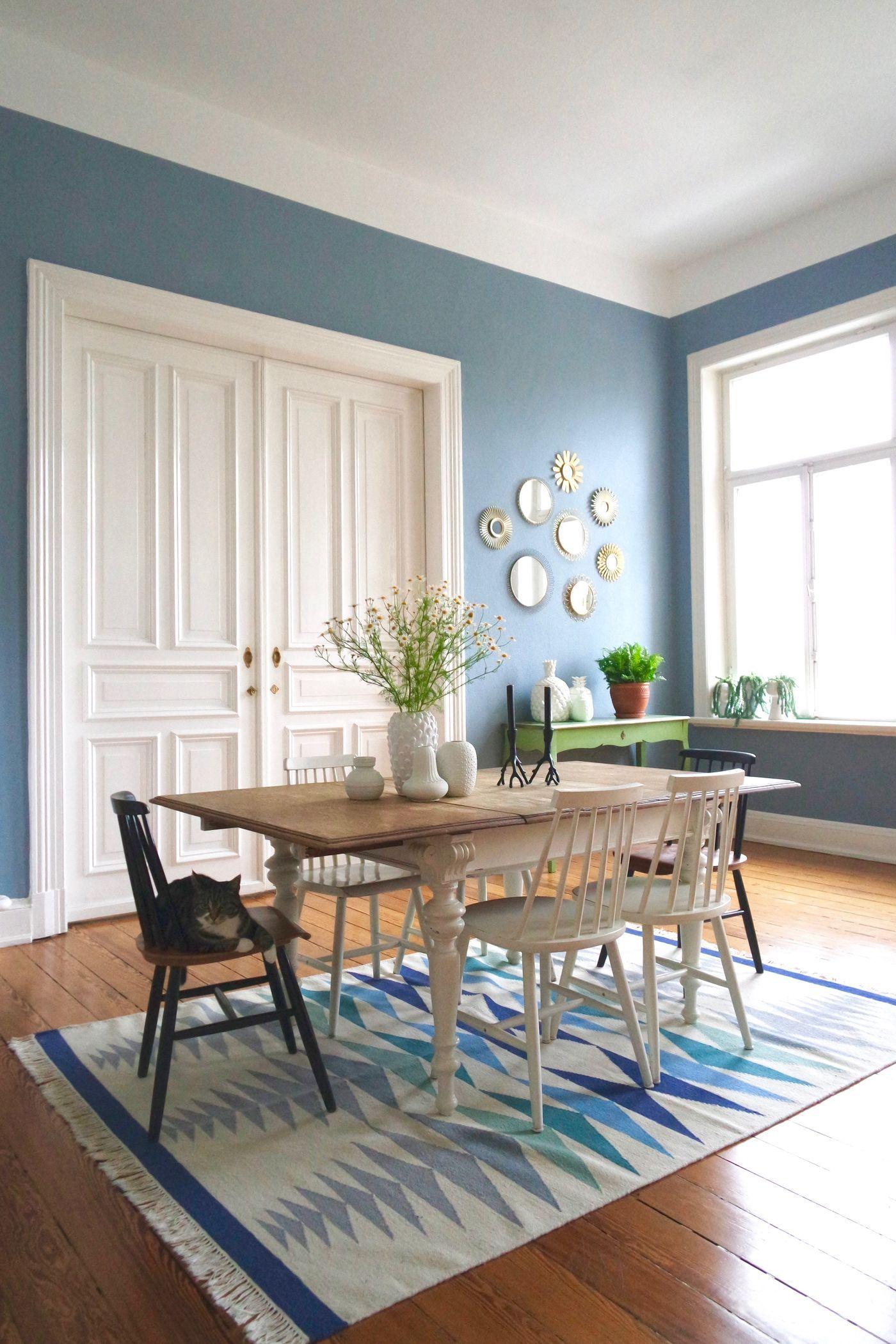 Wandfarbe Blau und Petrol Die besten Ideen fr Blautne