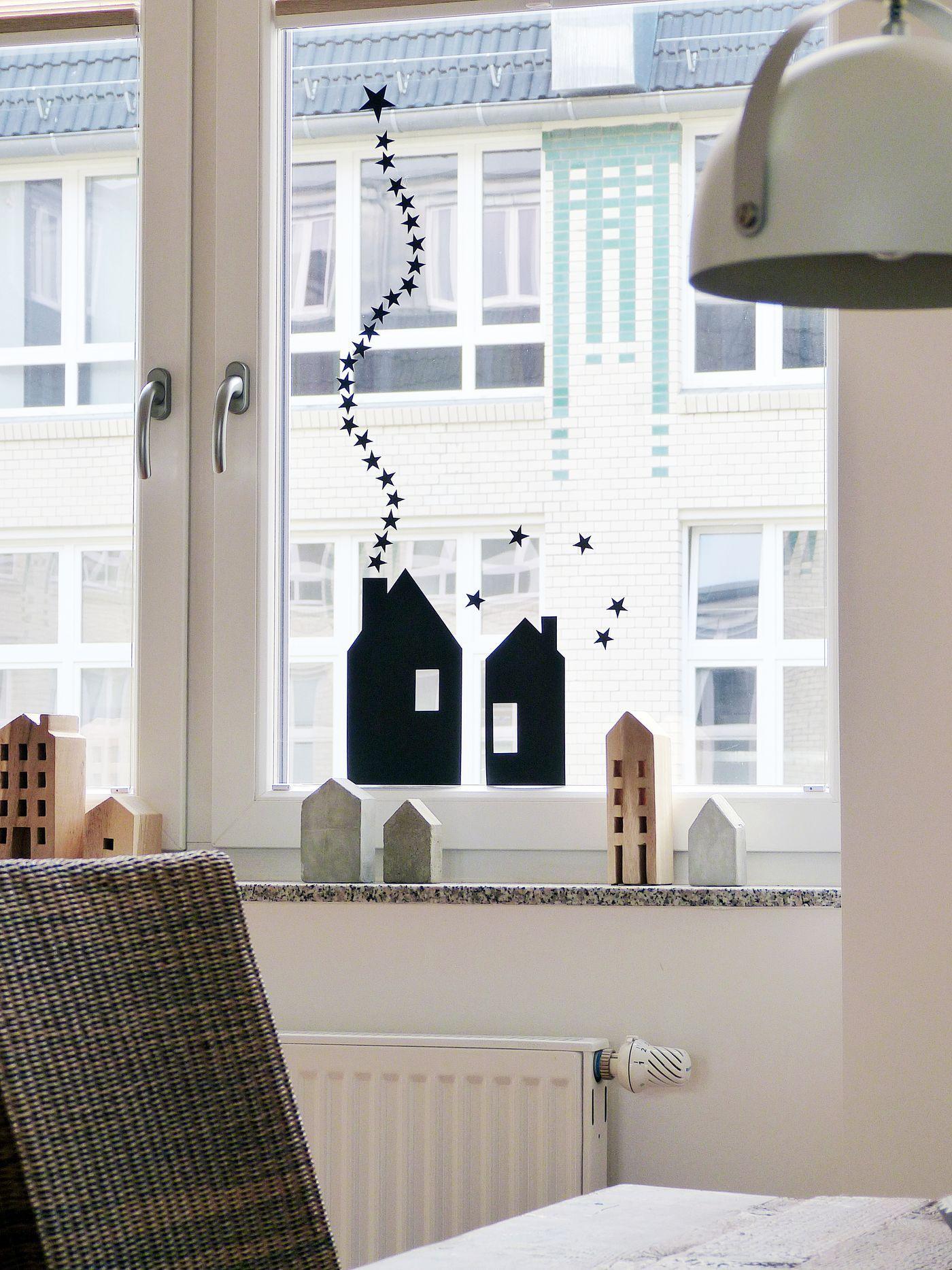 Fensterdeko Schne Ideen zum Dekorieren