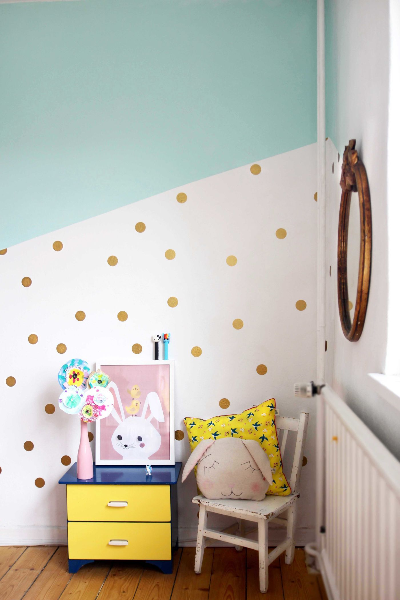 Die schnsten Ideen fr die Wandfarbe im Kinderzimmer