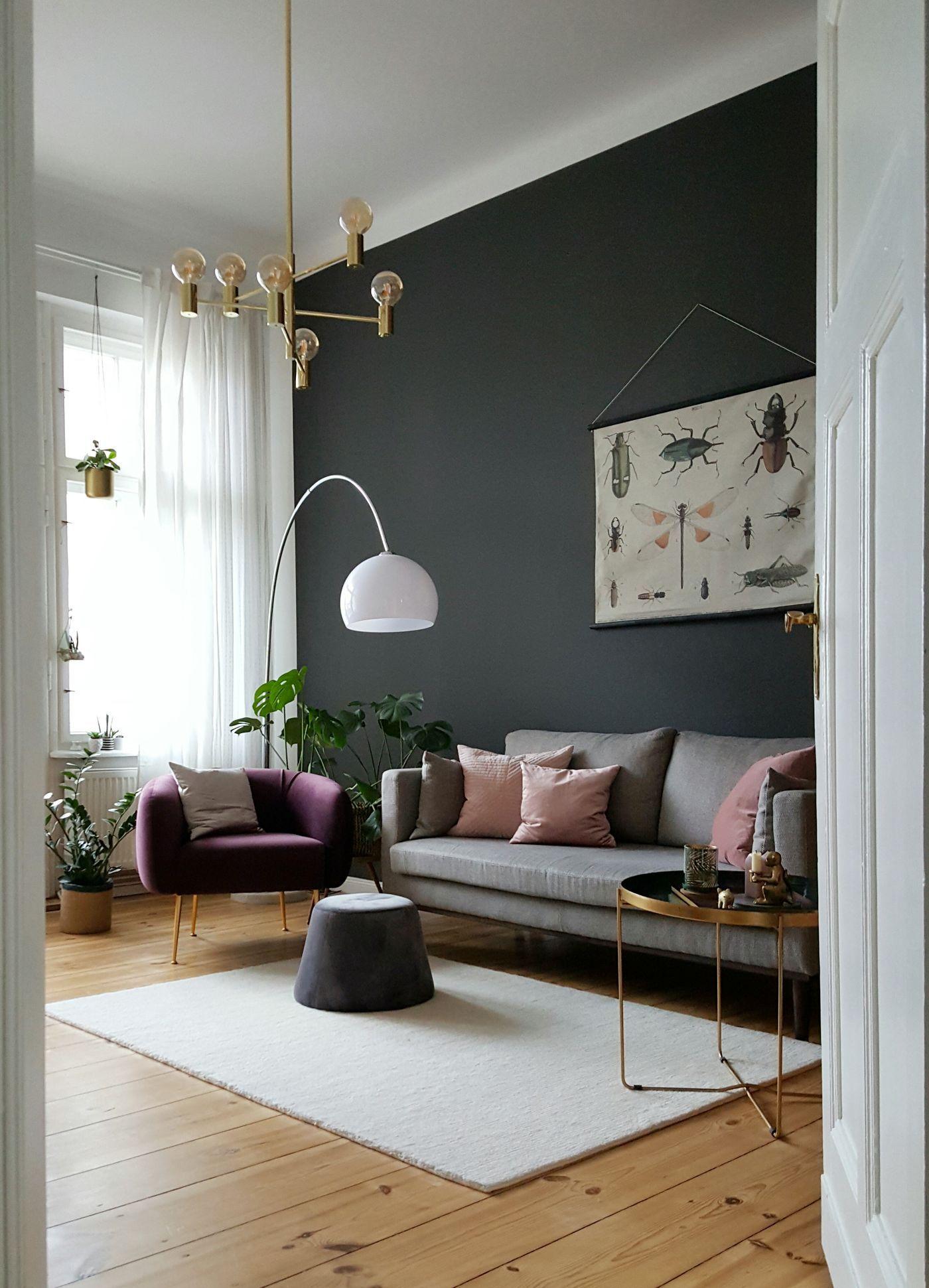 Grau als Wandfarbe  dezent und edel