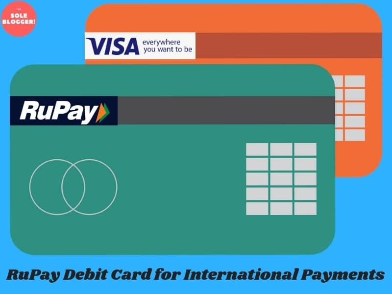 rupay debit card is an indian version of popular international gateway services like visa - International Visa Card