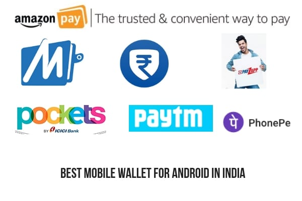 best mobile wallet for android in india