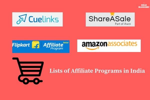 affiliate programs in India