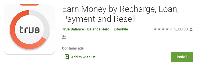 True Pay Later apps