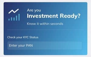 How to do KYC for Mutual Fund online - For Direct Investment