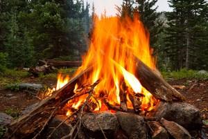 Caveman-Campfire