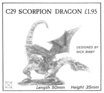 C29 Young Scorpion Tailed Dragon / Scorpion Dragon / Young
