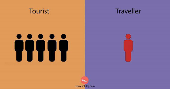 Turista vs Viaggiatore, le differenze