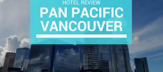 If you're looking for a hotel in Vancouver, you can't go wrong with the Pan Pacific! The highlight: it has a heated outdoor pool on the rooftop.