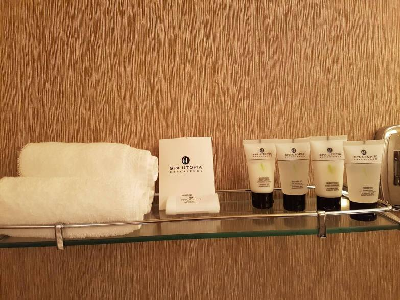 Toiletries at Pan Pacific Vancouver