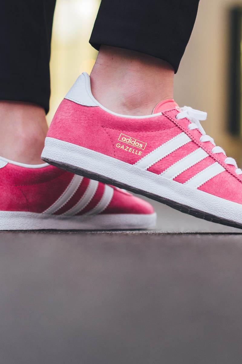 Zapatillas adidas Gazelle Pink mejor colección de zapatilla de 2017