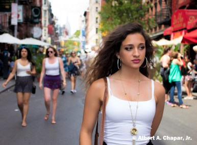 New York Model, Sophia Chapar, Little Italy