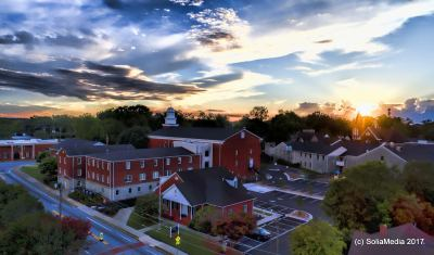 Olde Town Conyers - Conyers Methodist Church- Solia Media Photography