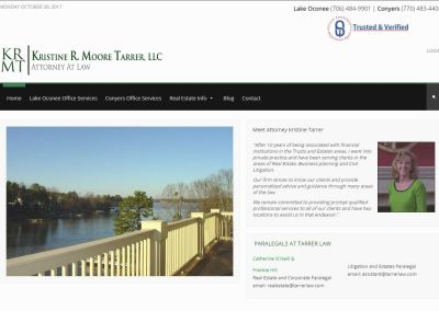 KRISTINE R. MOORE TARRER – LAW FIRM