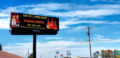 Solia Media Billboard Designs - Sigman Bottle Shop Conyers