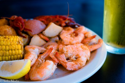 Solia Media Food Photography - Whistlepost Tavern Shrimp and Crawfish