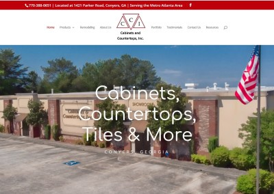 Solia Media – New Website for Cabinets and Countertops of Conyers, Georgia