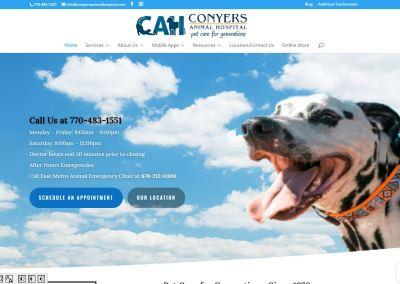 Conyers Animal Hospital – New Solia-Designed Website