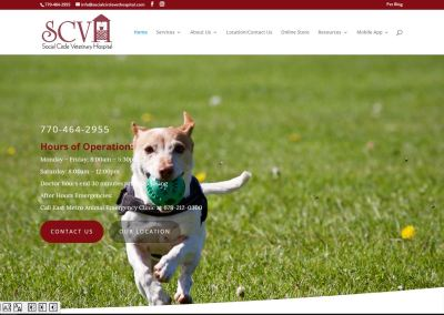 Social Circle Veterinary Hospital – New Solia-Designed Website