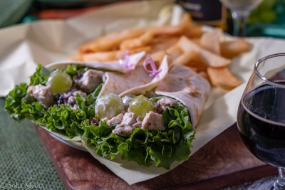 Pecan Wrap - Celtic Tavern of Olde Town Conyers - Solia Media Food Photography