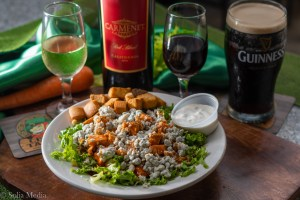 Solia Media Best Food Photos - Celtic Tavern Buffalo Blue Chicken Salad