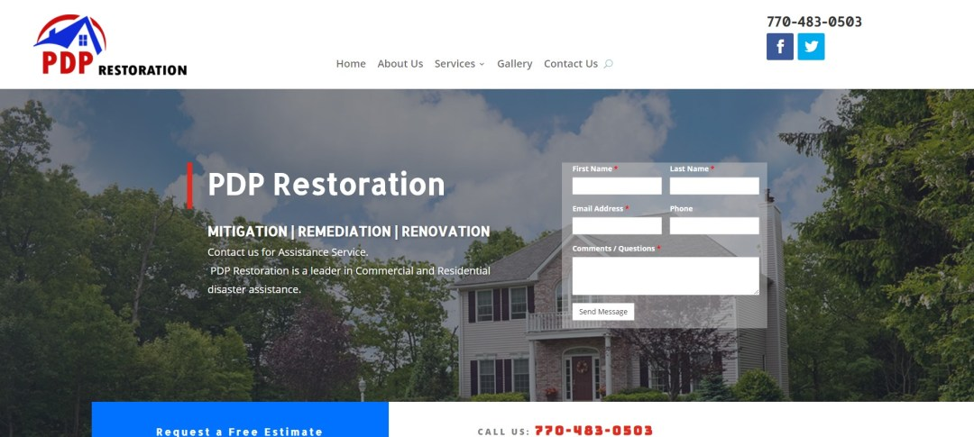 PDP- best in remediation, mitigation, renovation after disaster damage - Dekalb county, conyers, and east metro atlanta georgia
