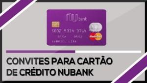 Convite cartão Nubank