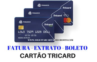 TRICARD FATURA - EXTRATO - BOLETO