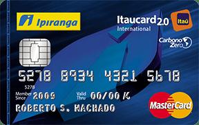 cartão ipiranga itaucard flex carbono zero
