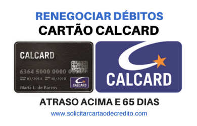 RENEGOCIAR DIVIDA CALCARD