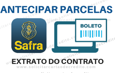 ANTECIPAR PARCELAS BANCO SAFRA