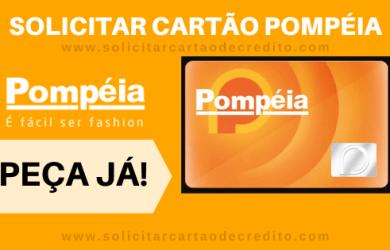 SOLICITAR CARTÃO LOJAS POMPÉIA