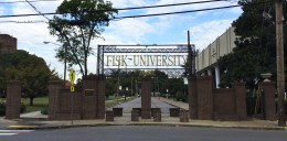 The historic grounds of Fisk University, home to significant alums W.E.B. Du Bois, Diane Nash and John Lewis.