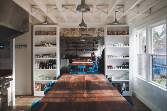 Interior Photos of the new addition at The Pantry Seattle (photo by John Speranza)