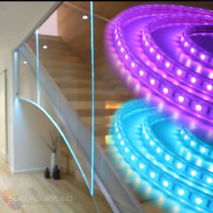 led strip light now the go to product for lighting glass blocks and edge lit glass installations solid apollo led blog