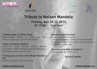 Echternach: Tribute to Nelson Mandela
