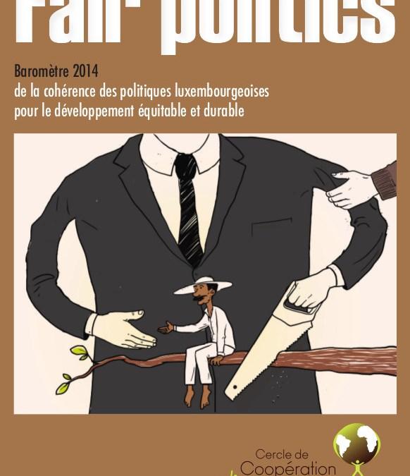 Communiqué de presse du Cercle de Coopération des ONG de développement du Luxembourg a.s.b.l.
