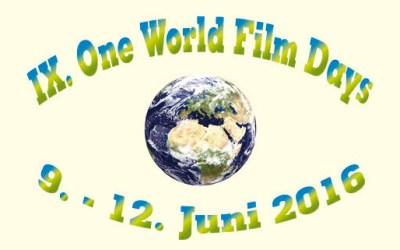 One World Film Days 2016