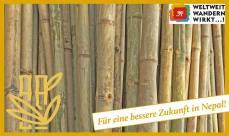 Wie mit Bambus NEPALS UNABHÄNGIGKEIT gefördert werden kan