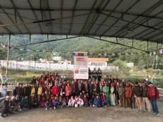 Ein großer Festtag für Nepal