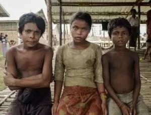 enfant myanmar rohingyas