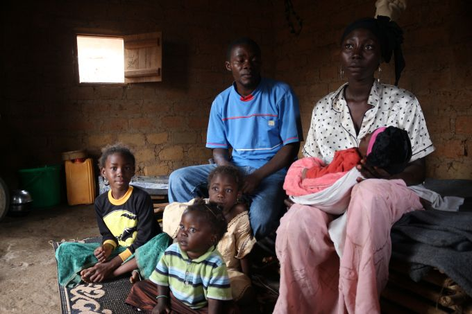 réfugiés centrafricains