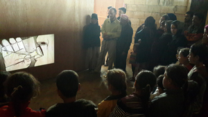 Projection movie in Zgharta 1