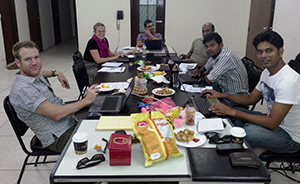 Solidarités International Team Bangladesh équipe inondations flooding