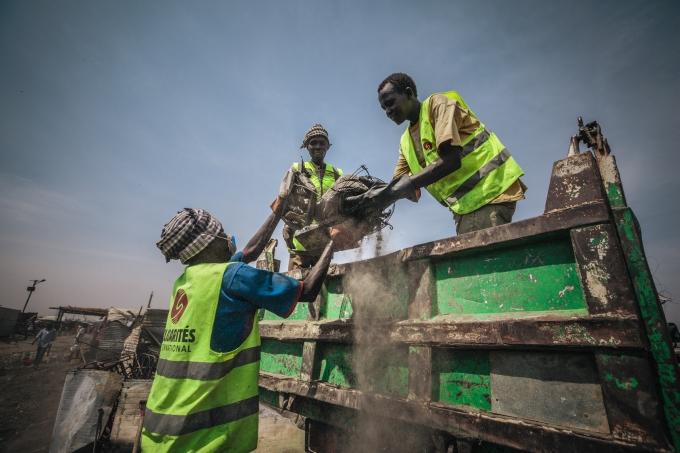 Soudan du sud SI en action grand