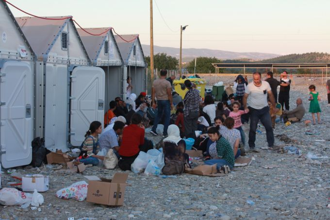 Greece macedonia migrants
