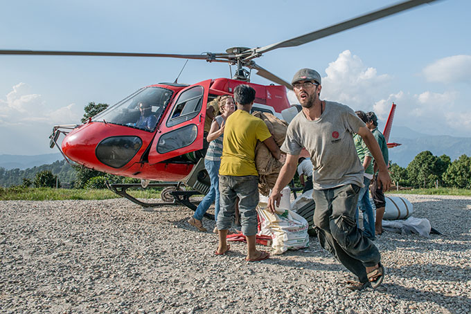 NEPAL urgence humanitaire